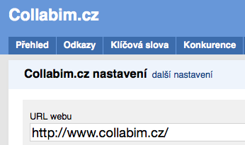 collabim-nastaveni-url