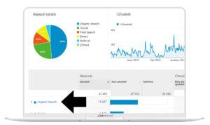 Google Analytics - získání frází z organicu.